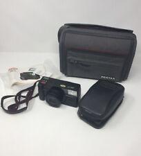Pentax Zoom 70 AF 35mm camera Vintage Camera with carry case Bag, Strap Untested
