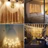 3x3M 300 LED Lumière Fée Rideau de Fenêtre Noël Fête Lampe Exterieur mariage BM