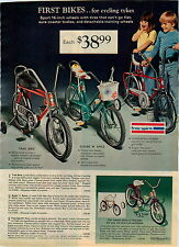 1974 ADVERTISEMENT 5 Pg Bike Bicycle Free Spirit Spyder Trail Sugar 'N Spice
