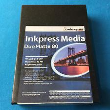 Inkpress Duo Matte 80 Inkjet Paper New Stock 4in. X 6in. 100 sheets PP8046100