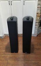 B&W Bower Wilkins Nautilus 804 Main / Stereo Speakers Black Color