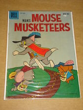 MOUSE MUSKETEERS #15 VG (4.0) TOM AND JERRY MGM DELL COMICS NOVEMBER 1958 (A)
