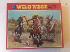 Vintage KG Games Wild West Series Jigsaw Puzzle 400 Pieces - Desperadoes