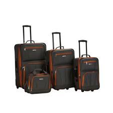 4 Pc Luggage Set, Charcoal