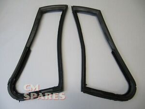 Quarter 1/4 Vent Window Seals - Left and Right - MG MGB MGC Roadster