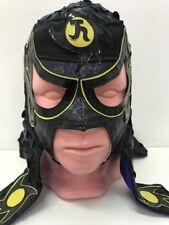 Penta Zero Miedo Black-Yellow Cmll-Aaa-Mlw Lucha Libre-Wrestling Pro Mask