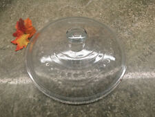 """Vintage WAGNER WARE C-8 Self Basting Dome Glass Lid Cast Iron Dutch Oven 10-1/2"""""""