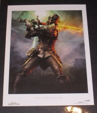 Dragon Age Followers Female Inquisitor Lithograph - Inquisition, 2 - Limited