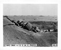 (047) Vintage USMC Photo Iwo Jima Operation