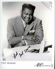 FATS DOMINO Signed Autographed Photo