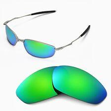 New WL Polarized Emeraldine Replacement Lenses For Oakley Whisker Sunglasses