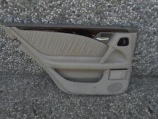 1996-1999 96-99 MERCEDES E320 LEFT REAR DRIVER SIDE TAN DOOR PANEL CLOTH #PIC2 D