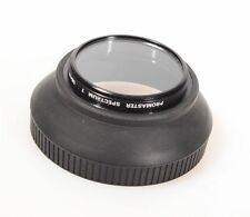58MM RUBBER LENS HOOD W/UV FILTER