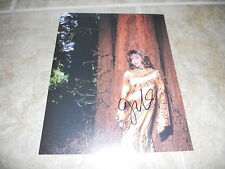"""Joan Collins Sexy Signed Autographed 7.25""""x9.25"""" Book Photo #10 PSA Guaranteed"""