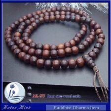 Lotusmind 8mm Rose wood 108 mala Prayer beads simple design
