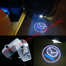 No Drill LED Door Ghost Shadow Welcome Projector Lights For Mazda 6 2003-2013