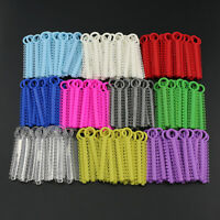 Dental Orthodontic Elastic Ligature Ties 1040pcs/1 Pack Different Color