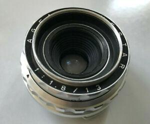 >>Schneider Agfa Movestar 1:1,8 13 mm Objektiv f. Agfa Movex Reflex N8 Kamera<<