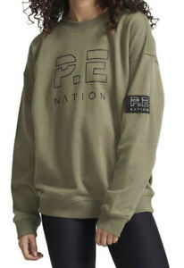 PE NATION Heads Up Sweater Size XXS BNWT **SOLD OUT**