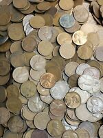 Lot (6LB pound) ☆☆coins Lincoln Wheat Cent Penny Lot - Mixed Dates 1909-1958