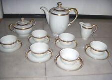 15 pc Vintage BOHEMIA AMSTERDAM MADE IN CZECHOSLOVAKIA  Tea Set Cups Saucers