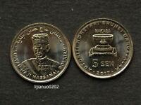 Brunei Darussalam Münzen  5 Sen  Asia coin