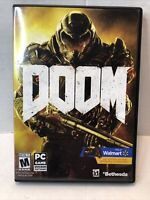 Doom PC Game DVD-ROM Software TESTED & COMPLETE !