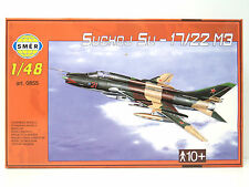 SMER Suchoj Su-17/22 M3,Russischer Jagdbomber, Bausatz 1:48,0855