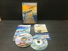 Microsoft Flight Simulator X Deluxe Edition 2006 PC W/ Key complete