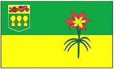 Large 3' x 5' High Quality 100% Polyester Saskatchewan Flag - Free Shipping
