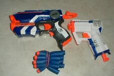 Lot-2 NERF N-Strike Elite Guns with 15-bullets TRIAD EX-3 and Firestrike