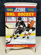 1990 Score NHL Hockey Premier Edition - Unopened Wax Packs