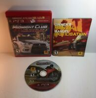 PS3 Midnight Club Los Angeles Complete Edition ( Sony PlayStation 3 )