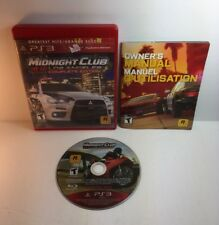 PS3 Midnight Club Los Angeles ( Complete Edition )