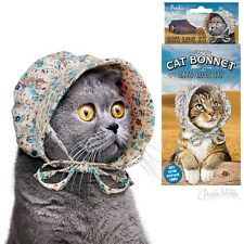 Cat Bonnet - Kitten Hat - 100% cotton  - Novelty Fun Gag Gifts