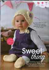 Knitting pattern Baby Girl Lacy Bootees and Bonnet set Gift 4 Ply 3mm Needles