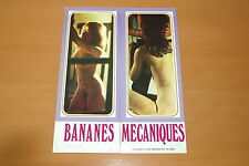SEXY MARIE-GEORGES PASCAL BANANES MECANIQUES 1973 RARE SYNOPSIS