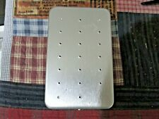 New listing Vintage Metal Perrine #107 Aluminum Fly Safe with Flies
