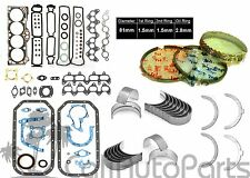 85-87 Corolla GTS MR2 1.6L DOHC 4AGEC 4AGELC FULL SET W/ RINGS & ENGINE BEARINGS