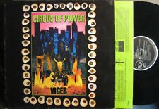 """Circus of Power """"vices"""" - LP"""