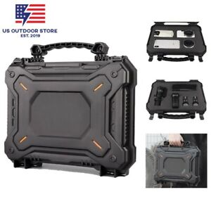 Waterproof Tactical Pistol Case Safety Carry Case Military Airsoft Handgun Cover