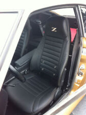 """1970 - 1978 Datsun 240Z/260Z/280Z Leather Replacement Seat Covers with """"Z"""" Logo"""