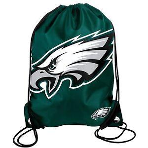 Philadelphia Eagles Back Pack/Sack Drawstring Bag/Tote NEW Backpack BIG LOGO