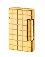 NEW ST Dupont Initial Golden Bronze Finish Lighter ST020801