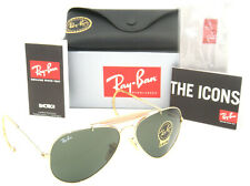 Authentic Ray-Ban Outdoorsman Gold Frame Green Classic G-15 RB 3030 L0216 58MM