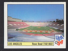 Panini - USA 94 World Cup - # 15 Los Angeles -  Rose Bowl (Black Back)