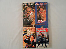 BILLY CRYSTAL: 3 Movies on 4 VHS Tapes Original Collectible