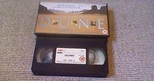 DUNE 4FRONT UK PAL VHS VIDEO 1999 David Lynch Frank Herbert