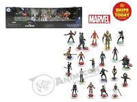 Disney Store MARVEL THE INFINITY SAGA MEGA FIGURE SET Avengers 20 PCS Cake 2020