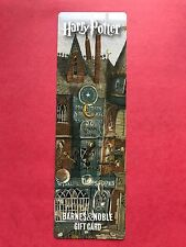 HARRY POTTER BARNES AND NOBLE BOOKMARK , WIZARD